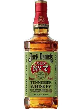 Jack Daniels Legacy Edition Old No. 7 Sour Mash Tennessee Whiskey
