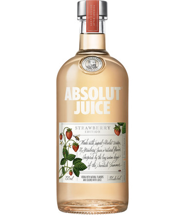 Absolut Juice Strawberry Edition Vodka 750ml