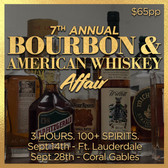 7th Annual Bourbon and Whiskey Affair - Tasting Ticket