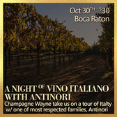 Italian Wines of Antinori - Tasting Ticket