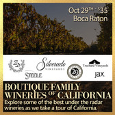 Boutique California Wineries  - Tasting Ticket