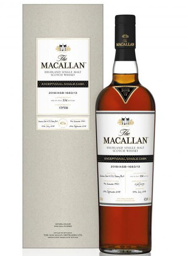 Macallan Exceptional Single Cask 2018/ASB-1683/13
