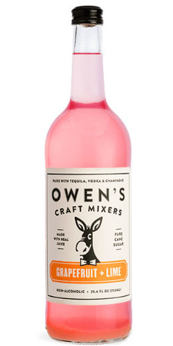 Owen's Grapefruit + Lime Mixer 750ml