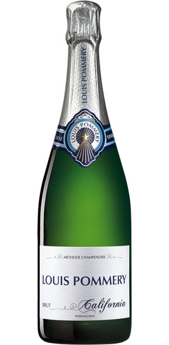 Louis Pommery Brut California Sparkling Wine 750ml