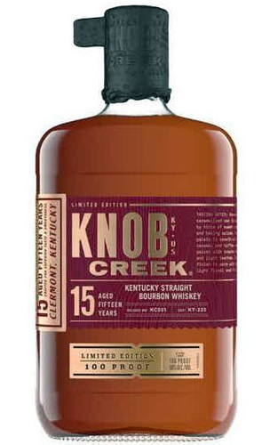 Knob Creek 15 Year Limited Edition 100 Proof Bourbon