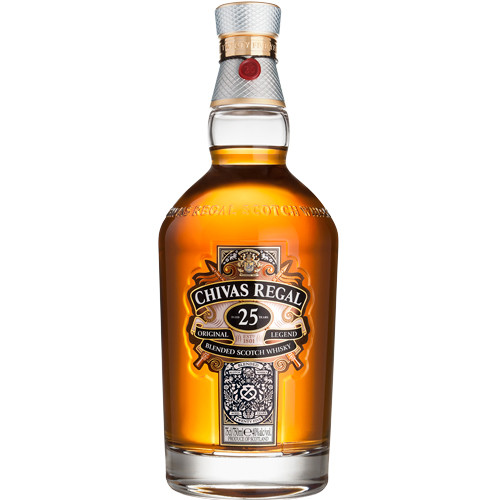 0519b09b1af Chivas Regal 25 Year Old Blended Scotch Whisky 750ml - Crown Wine ...