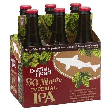 Dogfish Head '90 Minute' IPA 12oz 6-Pack Bottles