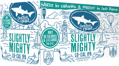 "Dogfish Head ""Slightly Mighty"" Lo-Cal IPA"