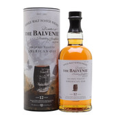 "Balvenie 12 Year ""The Sweet Toast of American Oak"" Single Malt Scotch Whisky"