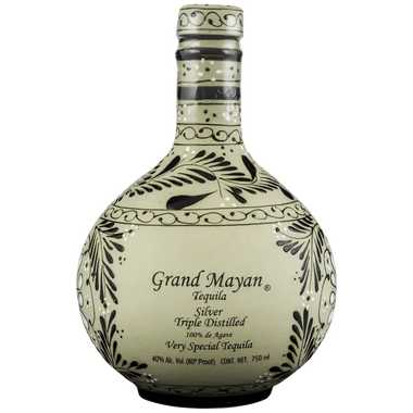 Grand Mayan Triple Distilled Silver Tequila