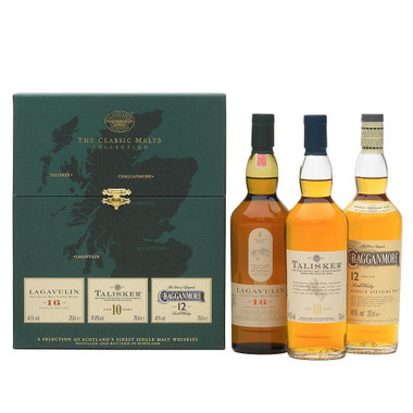 The Whisky Classic Malts Strong Collection