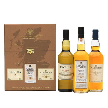 The Whisky Classic Malts Coastal Collection