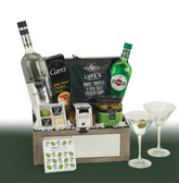 The Beluga Martini Gift Basket