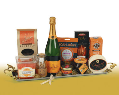 The Veuve Clicquot Gift Basket