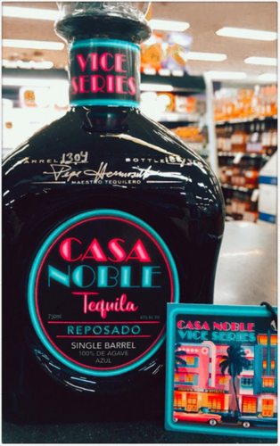 "Casa Noble Tequila Reposado ""Vice Series"" Single Barrel Limited Edition 750ml"