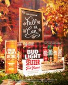 Bud Light Seltzer Fall Flannel Limited Edition Variety 12-Pack Cans