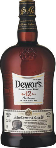 Dewar's 12 Year Blended Scotch Whisky 1.75L