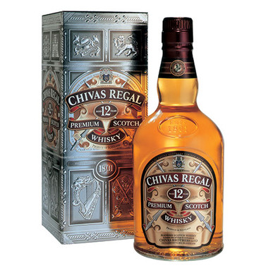 Chivas Regal 12 Year Old Blended Scotch Whisky 1.75L