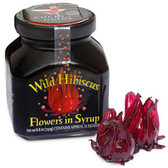 Wild Hibiscus Flowers in Syrup 8.8oz