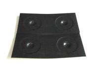 Wheel disc lexan Carbon 1/10 (4)
