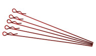 extra long body clip 1 10 - metallic red (5)
