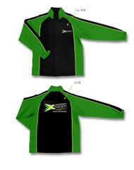 Xceed Sport-Jacket Black-Green  (XXL)