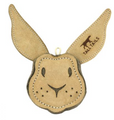 Bunny . This interesting shape is entertaining to play with, and encourage exploration and interactive play. Heavy-duty stitching adds great durability. Feel good about giving your dog an eco-friendly toy to play with.