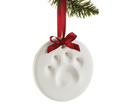 Make your own ornament with your dogs footprint!