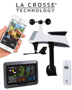 V40-PRO La Crosse WiFi Professional Colour Weather Station