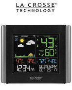 La Crosse V10-TH Remote Monitoring WiFi Colour Weather Station