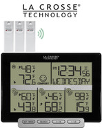 La Crosse Weather Station with 3 Remote Sensors 308-1412-3TX