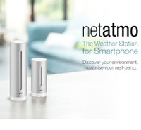 Netatmo Smart Home Weather Station Gift Bundle