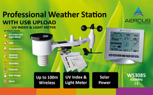 Aercus Instruments™ WS3085 Wireless Weather Station