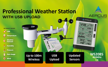 Aercus Instruments™ WS2085 Wireless Weather Station