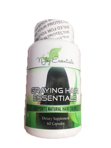Graying Hair Essentials (Anti-Graying supplements)