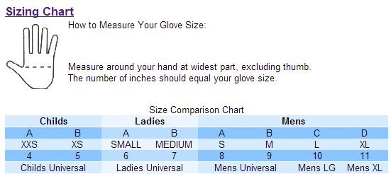 Ssg Gloves Sizing Chart