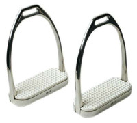 Stirrup Irons, Stainless Steel Fillis, Saddleseat