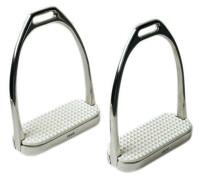 Stirrup Irons, Stainless Steel Fillis, Saddleseat
