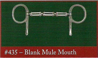 Half Cheek, Blank Mule Mouth (Bowman's #435)