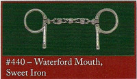 Half Cheek, Waterford Mouth of Sweet Iron (Bowman's #440)