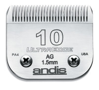 Clipper Blade, Ultraedge A5 Compatible #40 or #10 (Andis)