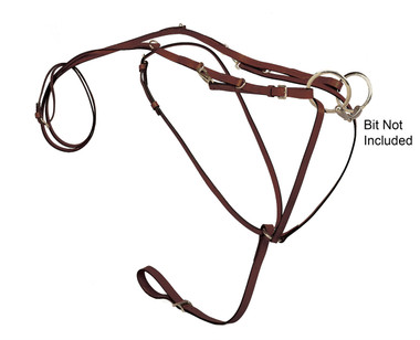 German Martingale w/Reins. Bit not included.