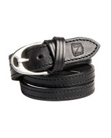Black/Silver Buckle View