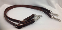 Side Reins, Short Leather (Walsh)