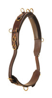 Surcingle, Leather Training Padded Double Buckle  (Tory)