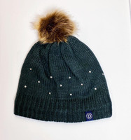 Beanie, Charcoal Sparkle Knit (Dublin) SALE!