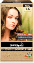 Aromaganic Organic Based Hair Colour 6.0N Dark Blonde/Natural
