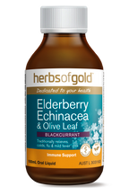 Herbs of Gold Elderberry Echinacea & Olive Leaf