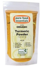 Pure Food Essentials Certified Organic Turmeric Powder