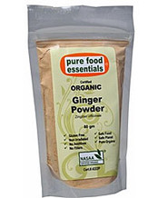 Pure Food Essentials Certified Organic Ginger Powder